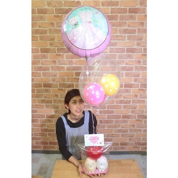 誕生日 バルーン  すみっコぐらし ぬいぐるみ 電報 結婚式 子供 姪 ギフト すみっこぐらし お祝い 結婚祝い 友達 balloon-shop 02