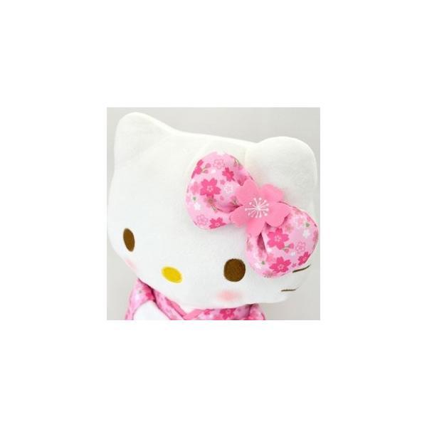 電報 結婚式 バルーン 桜柄の着物を着たキティたまごバルーン 成人式 お祝い バルーン電報 誕生日 キティ お祝い 誕生日 プレゼント |balloon-shop|06