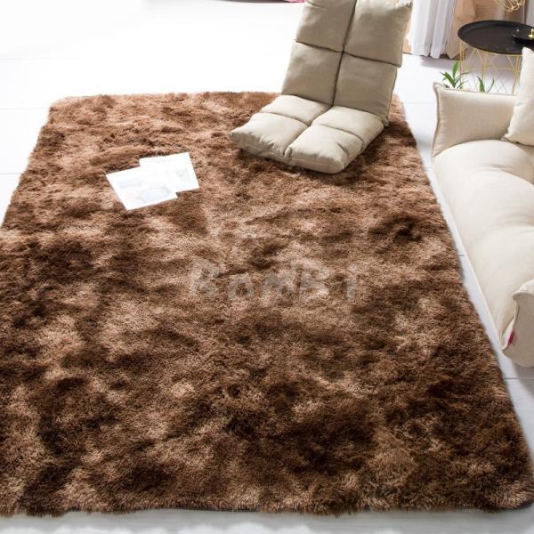 カーペット ラグマット 絨毯 おしゃれ 厚手 シャギーラグ 洗える 北欧 200 250 300 3畳 6畳 100×120|bambi2017-y|05