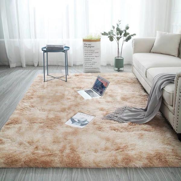 カーペット ラグマット 絨毯 おしゃれ 厚手 シャギーラグ 洗える 北欧 200 250 300 3畳 6畳 100×120|bambi2017-y|06