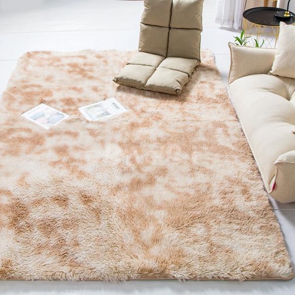 カーペット ラグマット 絨毯 おしゃれ 厚手 シャギーラグ 洗える 北欧 200 250 300 3畳 6畳 100×120|bambi2017-y|07