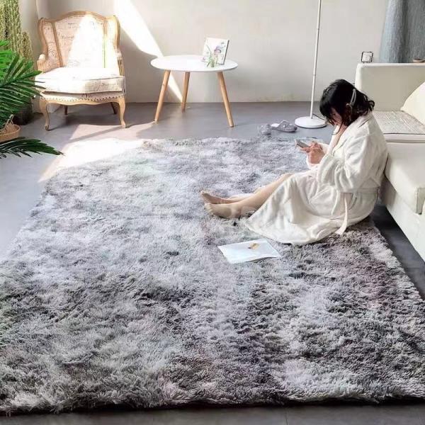 カーペット ラグマット 絨毯 おしゃれ 厚手 シャギーラグ 洗える 北欧 200 250 300 3畳 6畳 100×120|bambi2017-y|08