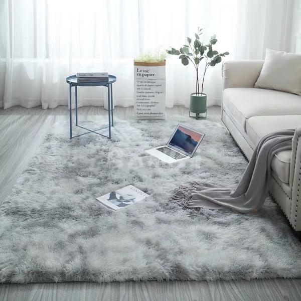 カーペット ラグマット 絨毯 おしゃれ 厚手 シャギーラグ 洗える 北欧 200 250 300 3畳 6畳 100×120|bambi2017-y|11