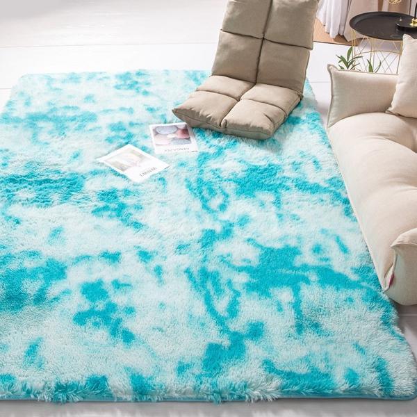 カーペット ラグマット 絨毯 おしゃれ 厚手 シャギーラグ 洗える 北欧 200 250 300 3畳 6畳 100×120|bambi2017-y|12