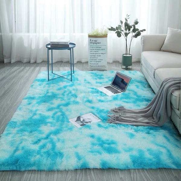カーペット ラグマット 絨毯 おしゃれ 厚手 シャギーラグ 洗える 北欧 200 250 300 3畳 6畳 100×120|bambi2017-y|13