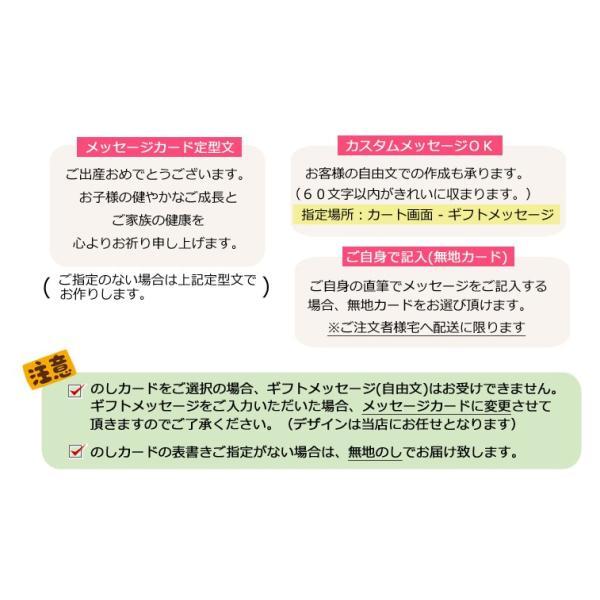 出産祝い ミキハウス おむつケーキ 名入れ 男 女 ソックス3足セット|bambinoeshop|08