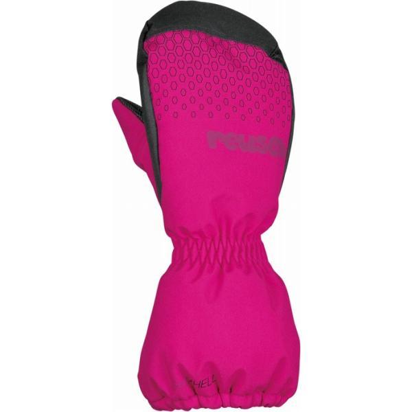 セール 17-18 ロイシュ (4585440-350) キッズ/ジュニアスキー手袋 LUAN MITTEN ピンクグロー (K)