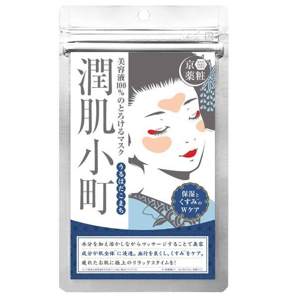 潤肌小町 京薬粧 保湿 くすみケア 潤いアップ とろけるマスク ヒアルロン酸 アデノシン ビタミンC誘導体 アスタキサンチン|bandh|04
