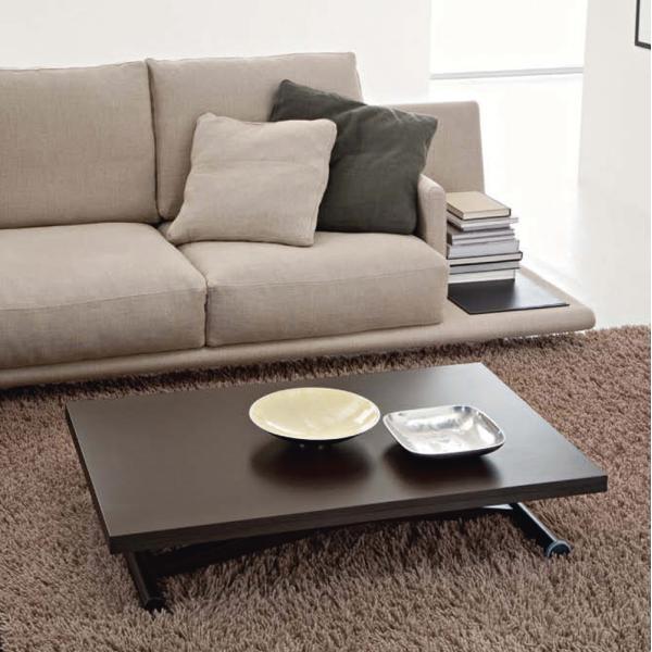 伸長式 リフティング テーブル 天然木天板 木製脚 昇降 伸長式 テーブル イタリア製 ダイニングテーブル リビングテーブル
