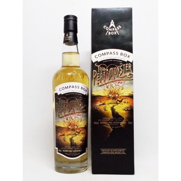 スコッチウイスキー コンパスボックス ザ ピートモンスター 46度 700ml スコットランド おすすめ 人気