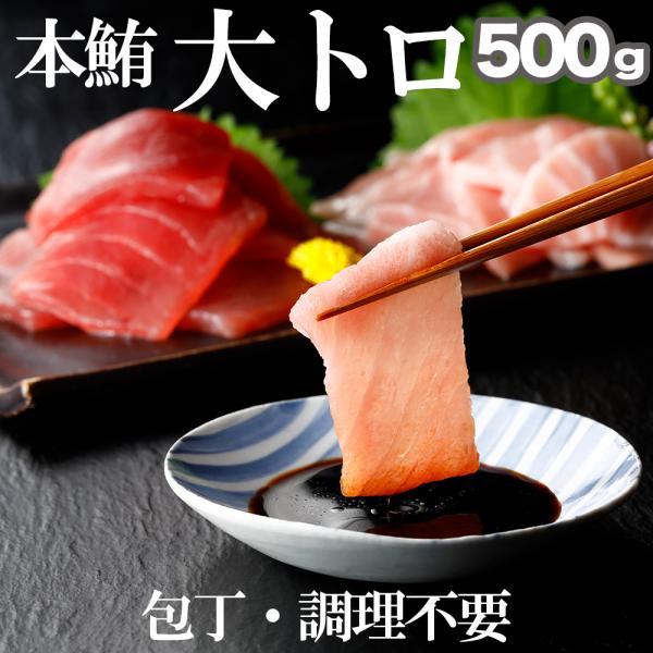 本鮪 大トロ 切落し 500g (100 x 5パック) 本まぐろ まぐろ クロマグロ 刺身マグロ お中元 海鮮 ギフト