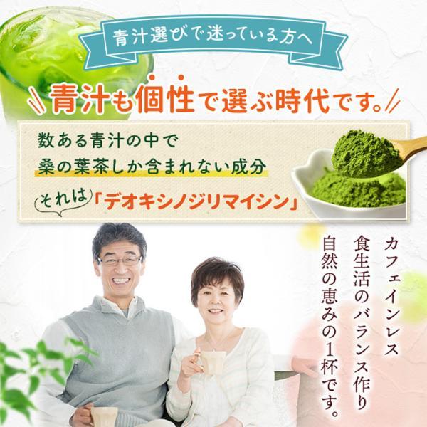 桑の葉茶 粉末 100g×2袋 青汁 熊本県産 国産 健康茶 桑の葉 桑茶 効能|bansyodo1|04