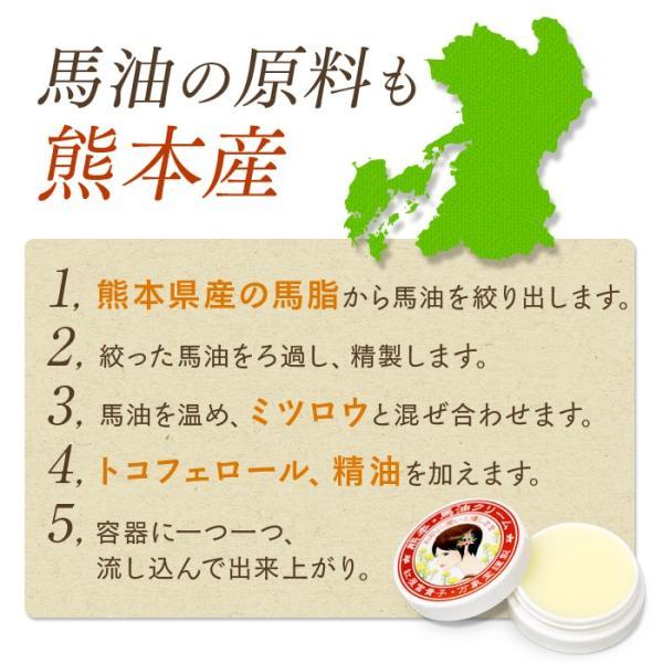 馬油クリーム (柚子) 30g  国産  ハンドクリーム スキンケア 保湿|bansyodo1|07