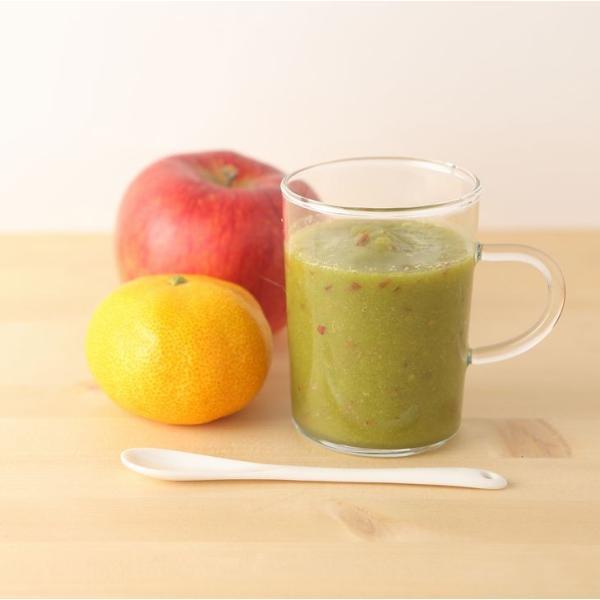 桑の葉茶 粉末 100g 青汁 熊本県産 国産 健康茶 桑の葉 桑茶 効能|bansyodo1|03