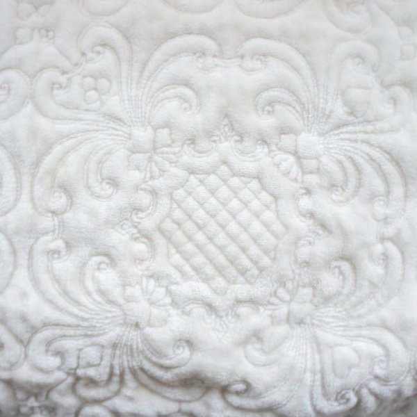 マルチカバー キルト 約200cm×250cm ホワイト ベージュ クラシックフランネル 長方形 シンプル おしゃれ ナチュラル シャビー|barazakkawithheart|13