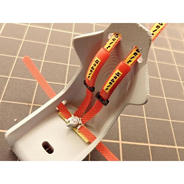 1/24 ラリーカー '80Late対応 シートベルトセット【NewScratch 24rh-sab001】|barchetta|04