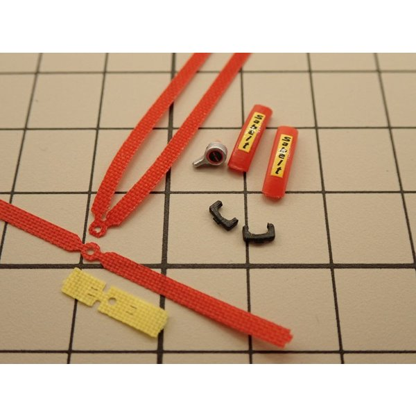 1/24 ラリーカー '80Late対応 シートベルトセット【NewScratch 24rh-sab001】|barchetta|05