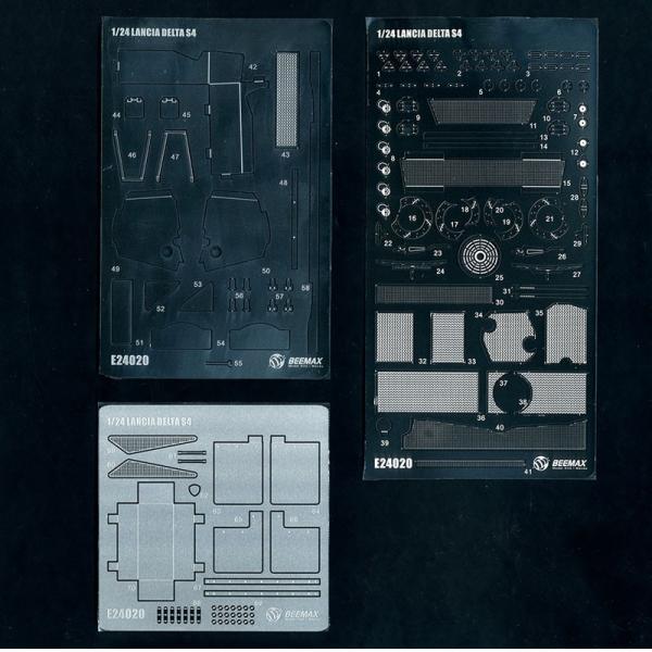 1/24 ランチア デルタ S4 共通ディテールアップパーツ【アオシマ 1/24 BEEMAXシリーズ 】 barchetta 02