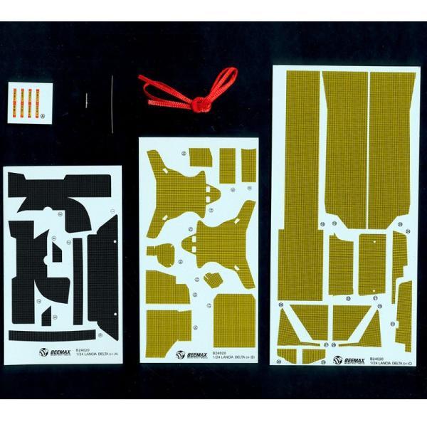 1/24 ランチア デルタ S4 共通ディテールアップパーツ【アオシマ 1/24 BEEMAXシリーズ 】 barchetta 03