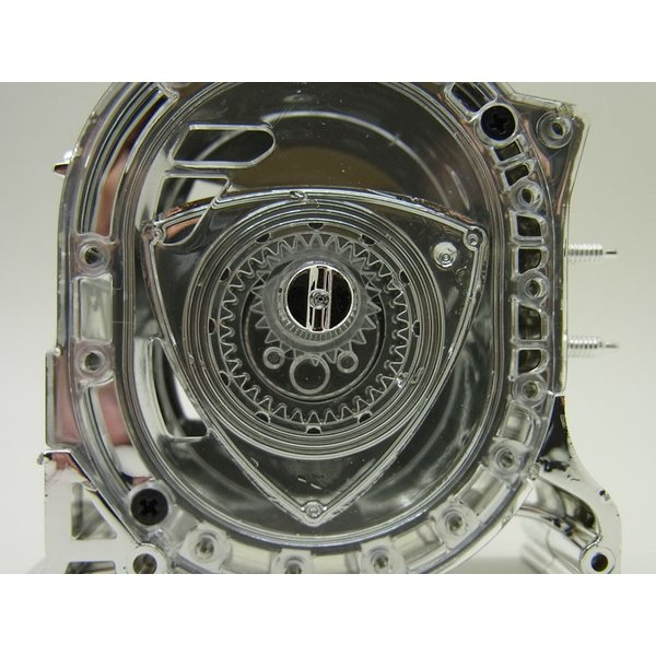 1/5 エンジン ロータリースピリット MSP2 メッキ仕様【アオシマ】|barchetta|06