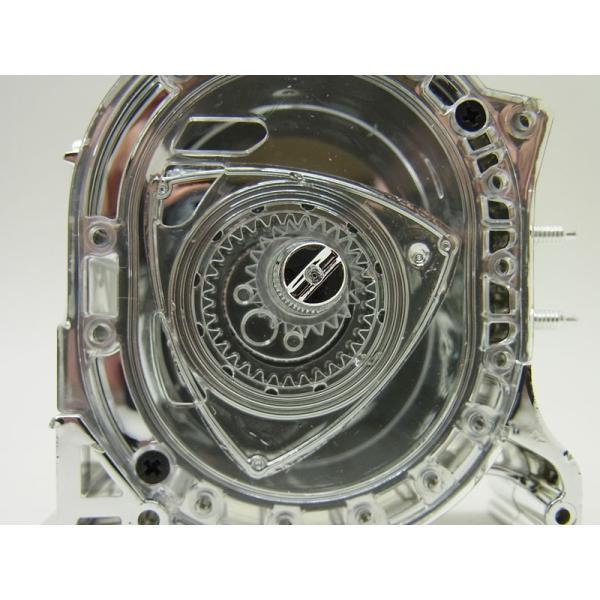 1/5 エンジン ロータリースピリット MSP2 メッキ仕様【アオシマ】|barchetta|07