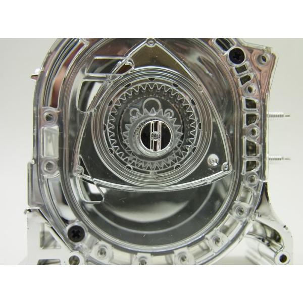 1/5 エンジン ロータリースピリット MSP2 メッキ仕様【アオシマ】|barchetta|08