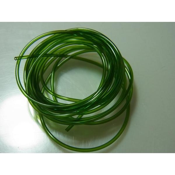 Pipingカラーチューブ緑(外径φ0.9/内径0.65/80cm)|barchetta|02