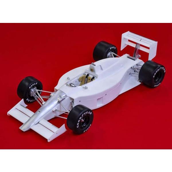 フェラーリ F1-89(640) Ver.B : Late Type※スポンサーデカール付き【モデルファクトリーヒロ 1/12 K695】|barchetta|02