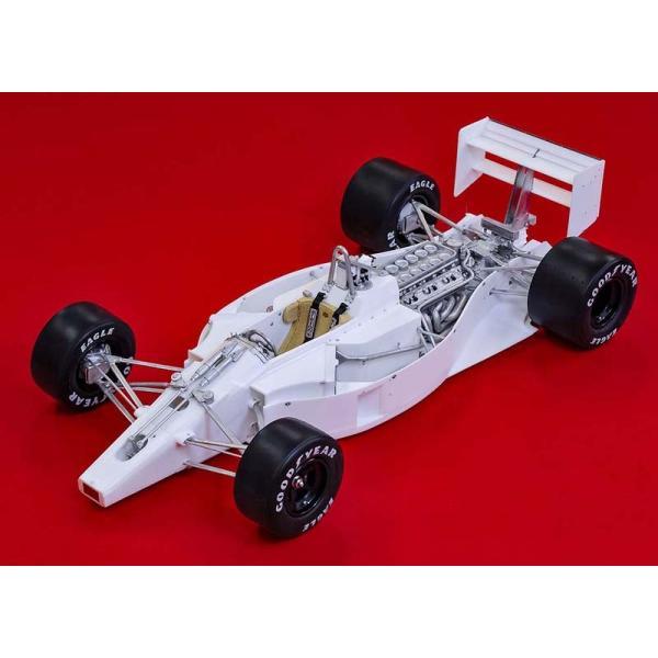 フェラーリ F1-89(640) Ver.B : Late Type※スポンサーデカール付き【モデルファクトリーヒロ 1/12 K695】|barchetta|03