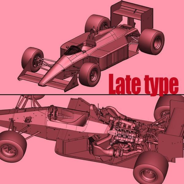 マクラーレン MP4/4(Late Type)スポンサーデカール付き Ver.B【モデルファクトリーヒロ 1/20 MFH K708】 barchetta 08