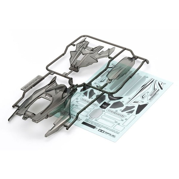 DCR-01(デクロス-01)ボディパーツセット(クリヤーブラック)【タミヤ ミニ四駆特別企画 ITEM95408】 barchetta 02