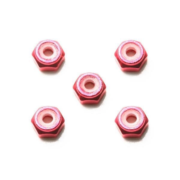 2mmアルミロックナット(ピンク5個)【タミヤ ミニ四駆特別企画 ITEM95426】|barchetta|02