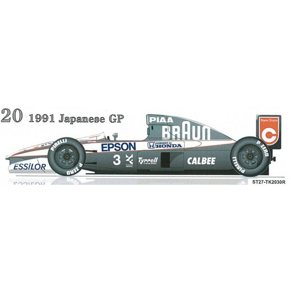 1/20 ティレル 020 日本GP トランスキット【スタジオ27】|barchetta|05