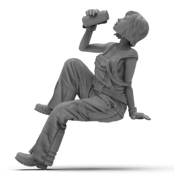 1/24 ブリジット【ジルプラ Zlpla ミリタリーフィギュア GC-002】|barchetta|05