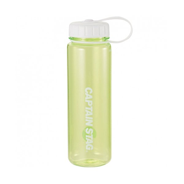 水筒 ウォーターボトル 500ml ライス目盛り付 グリーン UE-3382 キャプテンスタッグ クリアボトル 容器 米 3.3合 キャンプ
