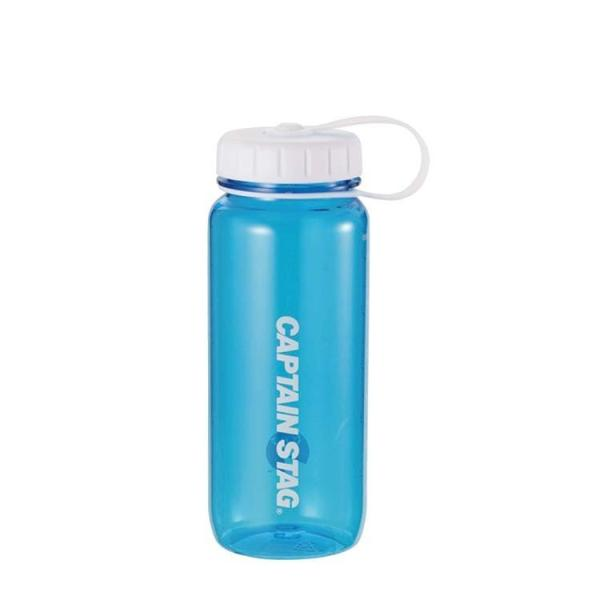 水筒 ウォーターボトル 650ml ライス目盛り付 ブルー UE-3391 キャプテンスタッグ クリアボトル 容器 米 4.5合 キャンプ