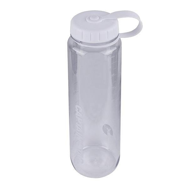 水筒 ウォーターボトル 1L ライス目盛り付 ホワイト UE-3395 キャプテンスタッグ クリアボトル 容器 米 6合 キャンプ