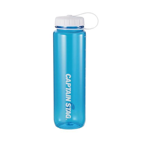 水筒 ウォーターボトル 1L ライス目盛り付 ブルー UE-3396 キャプテンスタッグ クリアボトル 容器 米 6合 キャンプ