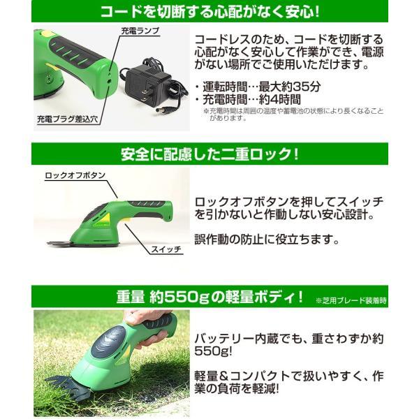 充電式芝刈り機 FIELDWOODS 芝生用バリカン FW-BB8A :fw-bb8a:芝生の ...