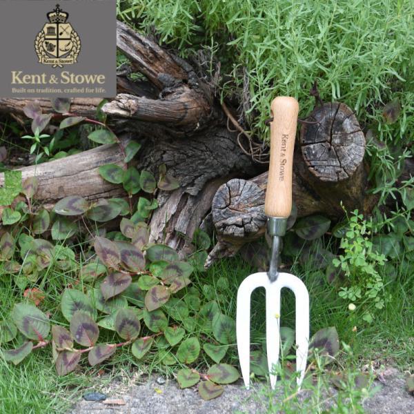 英国 Kent&Stowe ケント&ストウ ステンレスハンドフォーク ギフト