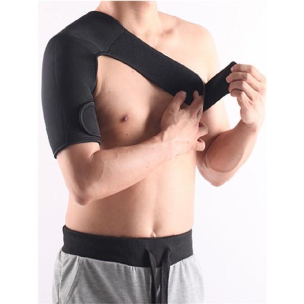 肩サポーター 右肩  左肩 サポーター  肩痛 ベルト  サポート コルセット 肩こり 解消 姿勢矯正 冷え性 五十肩 脱臼 送料無料|barsado2|03