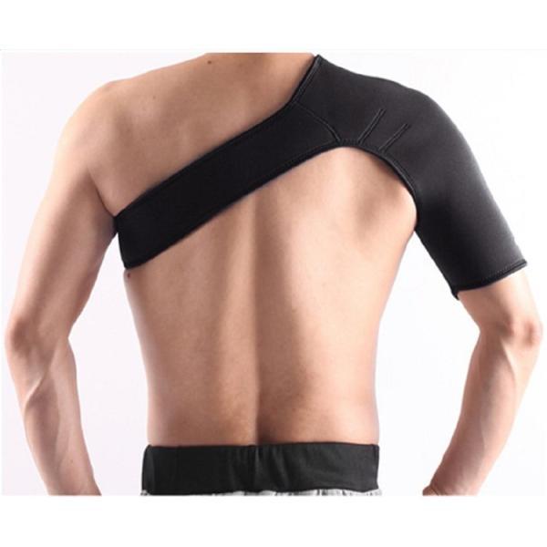 肩サポーター 右肩  左肩 サポーター  肩痛 ベルト  サポート コルセット 肩こり 解消 姿勢矯正 冷え性 五十肩 脱臼 送料無料|barsado2|04