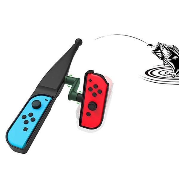 釣りスピリッツ Nintendo Switch 釣竿 釣り竿 フィッシング 釣り ジョイコン スイッチ コントローラー フィッシング|barsado2|04
