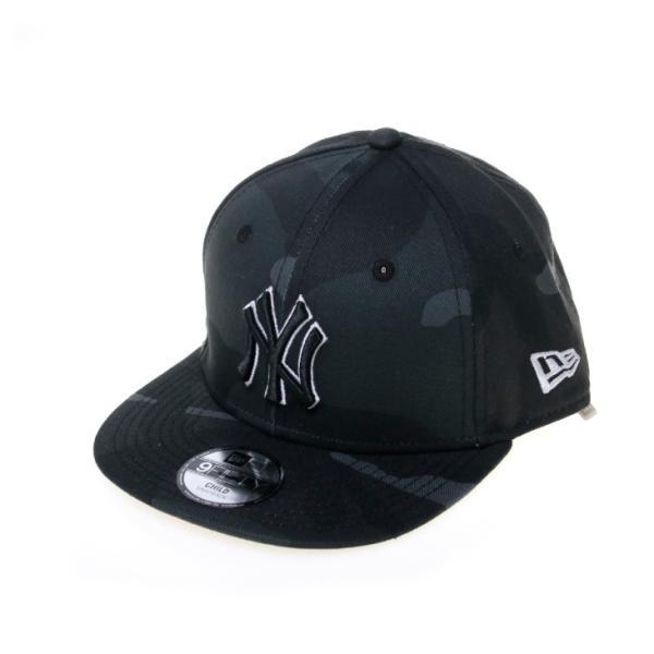 75d704986fcb4 NEW ERA(ニューエラ) 帽子 キャップ / キッズ Child 9FIFTY ミッドナイトカモ ニューヨーク・ヤンキース ...