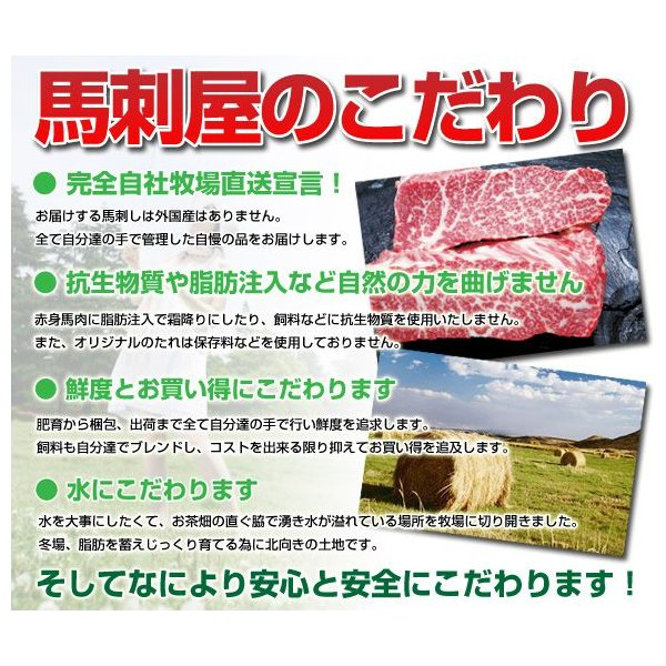 馬刺し 馬肉 熊本 赤身馬刺し 肩200g|basashi|02