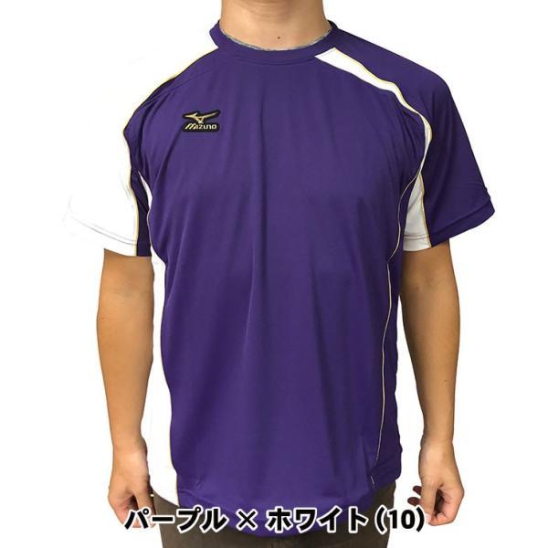 ミズノプロ 九州限定 半袖 Tシャツ ベースボールシャツ 夏用 メンズ 12JA6T01型 スポーツウェア 大きいサイズ mizuno pro|baseballparkstandin|18