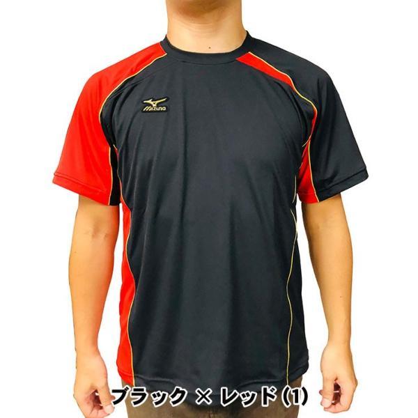 ミズノプロ 九州限定 半袖 Tシャツ ベースボールシャツ 夏用 メンズ 12JA6T01型 スポーツウェア 大きいサイズ mizuno pro|baseballparkstandin|04