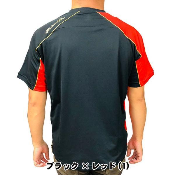 ミズノプロ 九州限定 半袖 Tシャツ ベースボールシャツ 夏用 メンズ 12JA6T01型 スポーツウェア 大きいサイズ mizuno pro|baseballparkstandin|05