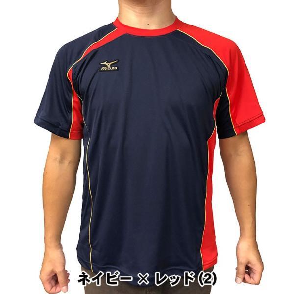 ミズノプロ 九州限定 半袖 Tシャツ ベースボールシャツ 夏用 メンズ 12JA6T01型 スポーツウェア 大きいサイズ mizuno pro|baseballparkstandin|06
