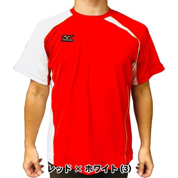 ミズノプロ 九州限定 半袖 Tシャツ ベースボールシャツ 夏用 メンズ 12JA6T01型 スポーツウェア 大きいサイズ mizuno pro|baseballparkstandin|08